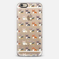 Corgis (Clear) iPhone 6 case by Lili Chin | Casetify