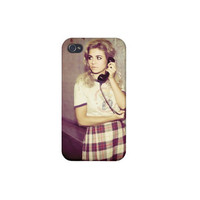 Marina and the diamonds iPhone 4/4s/5 & iPod 4 Case