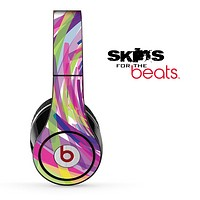 Abstract Color Brush Skin for the Beats by Dre Solo, Studio, Wireless, Pro or Mixr