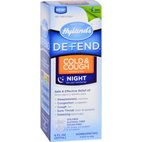 Hyland's Defend Cold and Cough Night - 8 fl oz