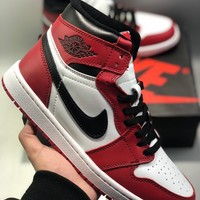 Nike AIR JORDAN 1 Men's and women's cheap nike shoes