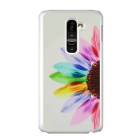 Famous Abstract Art Master's Paintings Sunflower Colorful Petals Flower Hard Case Cover For LG G2 (Fit Case For At&T)