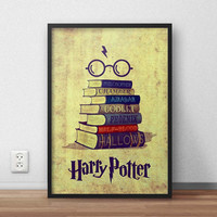 Harry Potter Quotes Color, (Instant Download) , 300 dpi, Awesome Design Printing, Decoration
