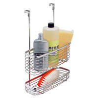 Over the Cabinet Storage Basket, Chrome