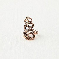 Twisted Snake Ring at Free People Clothing Boutique