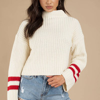 Lost + Wander Mulberry Sweater Top
