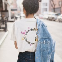 Somewhere Some Day Flower Tee | Urban Outfitters