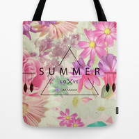 SUMMER LOVE Tote Bag by Nika
