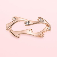 LC Lauren Conrad Runway Collection Twig Ring