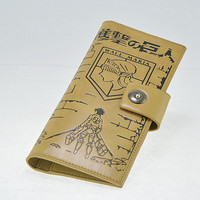 Wall of Maria Attack On Titan Wallet
