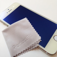 iPhone 5/5c/5s Titanium Blue GlassShield Luxury Screen Protection