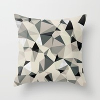 geometry waves  Throw Pillow by SpinL