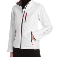 Helly Hansen Women's Crew Midlayer Jacket, White, Large