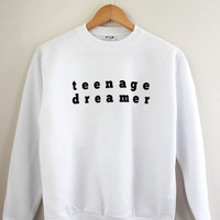 Teenage Dreamer Graphic Crewneck Sweatshirt