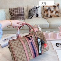 HCXX 19Oct 043 Gucci Shoulder Strap Crossbody Pouch Handle Fashion Weekend Duffel Bag 30-20cm