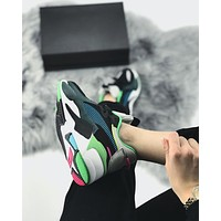shosouvenir PUMA RS-X TOYS Colour collision stitching daddy shoes men and women's leisure running shoes