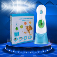 New Termometer Health Monitors Baby Adult Digital 4 In 1 Ear Body Multifunctional Infrared Thermometer SM6