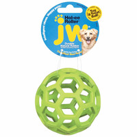 "Petmate JW Hol-Ee Roller Dog Toy Small Assorted 3"" x 3"" x 6"""