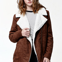 Volcom Ruffian Faux Suede Jacket at PacSun.com