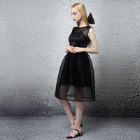 Classic Black Sweetheart Dress