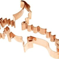Old River Road Dragon Shape Cookie Cutter, Copper