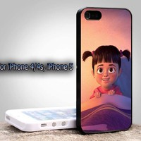mosters inc boo For Apple Phone, IPhone 4/4S Case, IPhone 5 Case, Cover Plastic