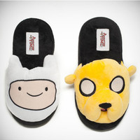 Adventure Time Jake and Finn Adult Slippers