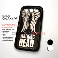 Team Wings The Walking Dead Design for Samsung Galaxy S3 Case