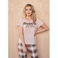 Rodeo! America's No. 1 Sport Cut-Off Tee