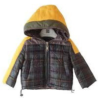 Fun&Fun - Baby Boys Plaid Jacket, Check - 6M