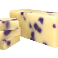 Black Raspberry Vanilla Artisan Soap Loaf -3 Pounds