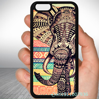 Elephant phone Case for iPhone 6 4 5S 5C 6S plus TOUCH 4 5/Samsung S3 S4 S5 s6 edge mini Note 2 3 4 5 drop shipping