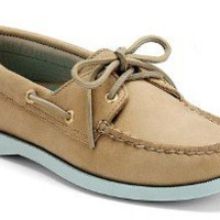 Sperry Top-Sider Women's Cloud Logo Authentic Original 2-Eye Color Pop Boat Shoe