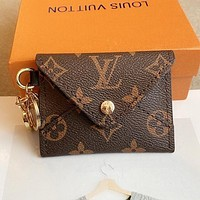 LV classic old-fashioned retro simple coin purse card holder