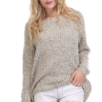 Bohemian Pullover Knit Sweater