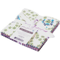 """Fabric, Shelburne Falls by Denyse Schmidt, Charm Pack,  5""""X5"""" Cuts, 30 pieces"""