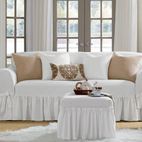 Sure Fit - Essential Twill One Piece Slipcovers