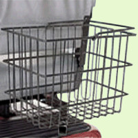 Rear Basket for Pride Scooters or Powerchairs ACCBSKT1004 - Pride Accessories Rear Baskets   TopMobility.com