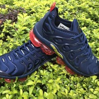 HCXX 19July 533 Nike Air Vapormax Plus Midnight Navy Sneakers Casual Fashion Running Shoes