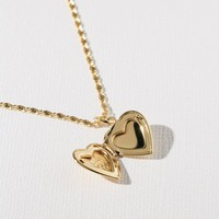 The Heart Locket Necklace
