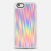 Pastel Rainbow Oil Zigzag Waves iPhone 6s case by Organic Saturation | Casetify