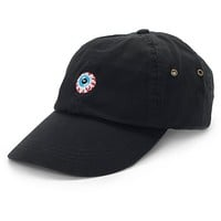 Mishka Keep Watch Black Baseball Hat