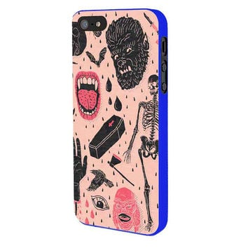 Whole Lotta Horror iPhone 5 Case Available for iPhone 5 iPhone 5s iPhone 5c iPhone 4/4s