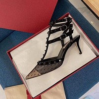 Valentino Fashion Trending Women High Heels Shoes Women Sandals Heel
