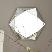 Faceted Mirror - Small
