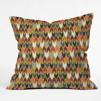 Sharon Turner Saffron Pepper Throw Pillow