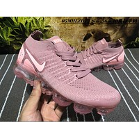 Nike Air Vapor Max Plyknit 2018 Causal Running Shoes Pink