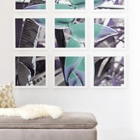 Deb Haugen Aloha Heliconia Framed Wall Mural