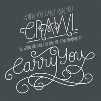 Firefly Quote : Carry You Art Print by xtinaissharp