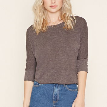 Textured Dolman Sweater   Forever 21 - 2000204866